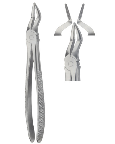 Tooth Forceps for upper roots