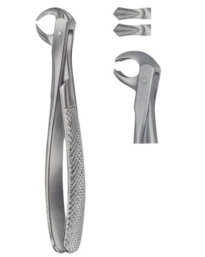 Tooth Forceps for Lower Molars